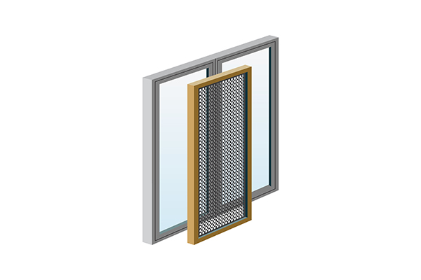 Mosquito nets for windows and doors